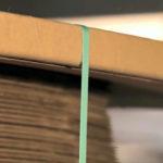 Optimaler Schutz, Umreifungsband läuft sauber über die Profilkante