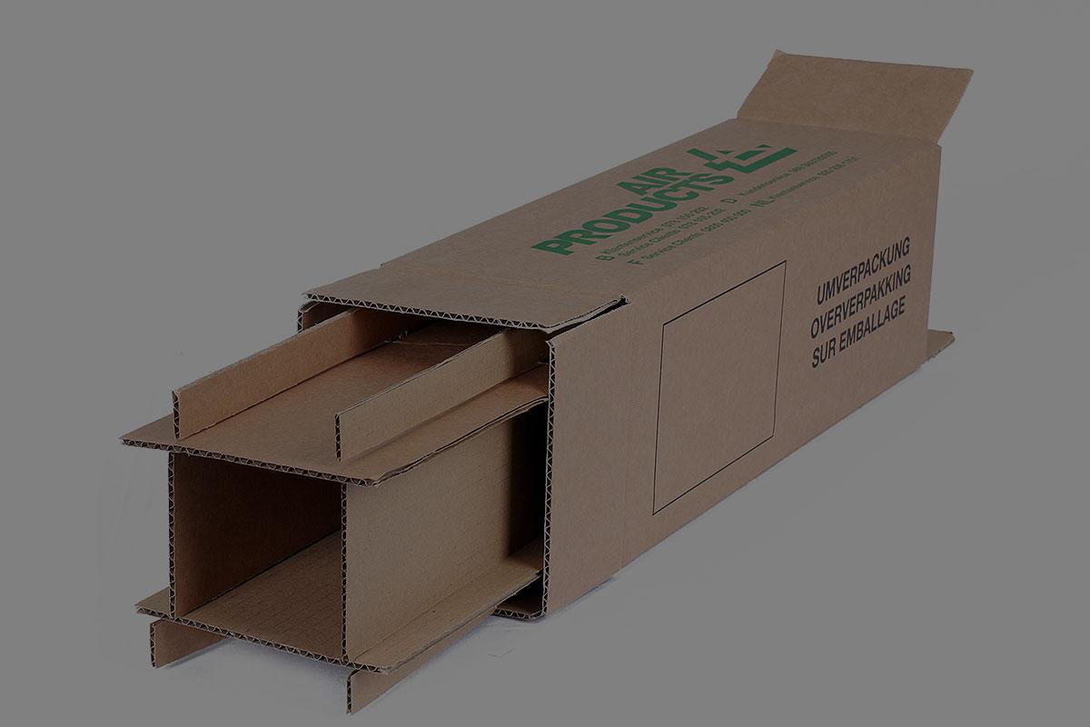 Wepa Slider, Schutzverpackung