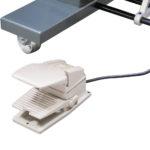 Auslösung per Handtaster, Fussschalter oder Fotozelle