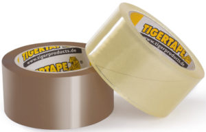 TigerTape PP 500 (braun/transparent)