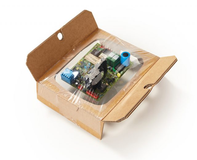 Korrvu Hybrid-Verpackung